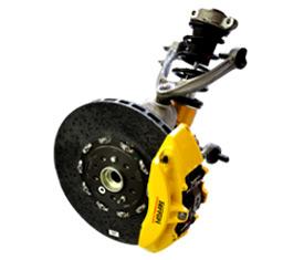 Ferrari 575M brakes