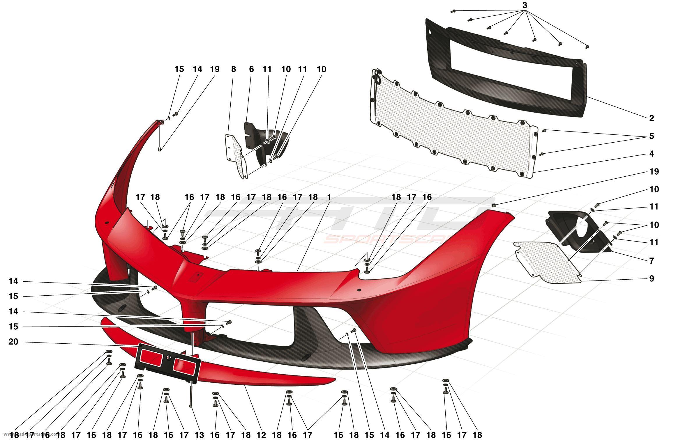 LaFerrari - Доработки модели